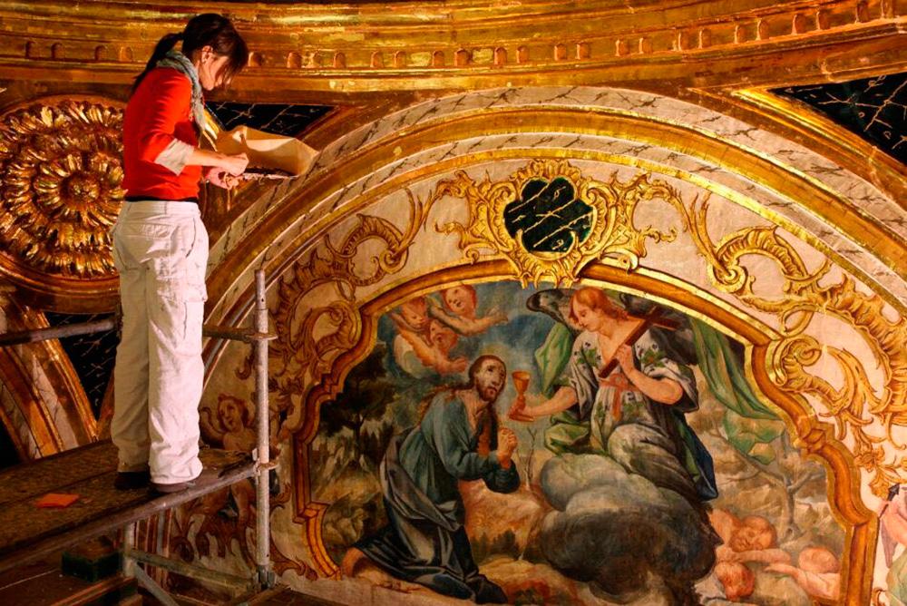 Restauracion de retablos y pasos de cofradias