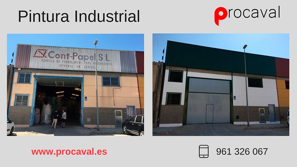 Pintura Industrial en Nave