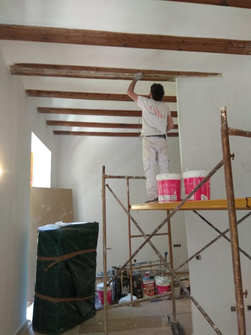 Restauración vigas de madera