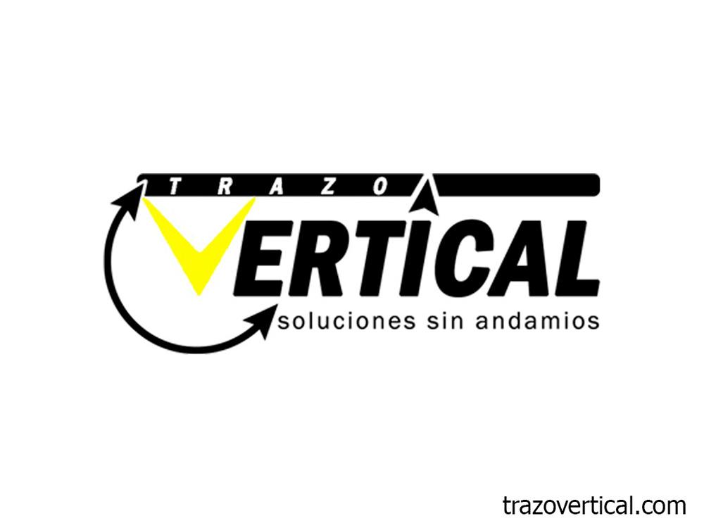 Trazo Vertical, soluciones sin andamios. Trabajos Verticales en comunidades, industria y medio natural.