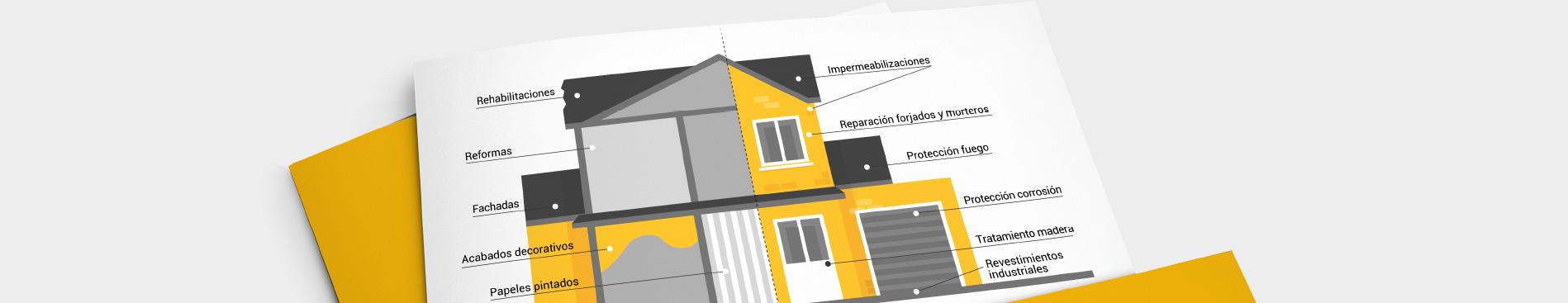 Aplicadores red experta. Rehabilitación, restauración, protección contra el fuego, pintores de viviendas, alta decoración, reformas en general, anticorrosión y pavimentos